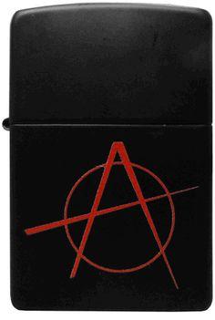 Zippo Lighters - Anarchy Zippo Lighter