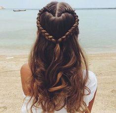 -Wendy- For the hair- savvy #4- Heart braid. For all hair lengths.