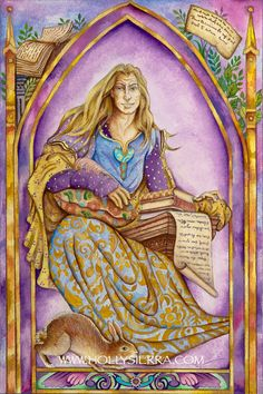 The Poet From The Chrysalis Tarot Troupe Of от HollySierraArt