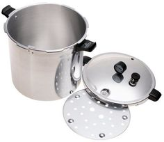 Aluminium Pressure Cooker Canning Kit Cooking Garden Kitchen Appliance 23 Quart  #PressureCooker