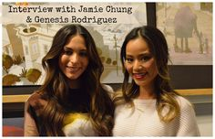 Check out our Interview with Jamie Chung & Genesis Rodriguez (voices of Go Go and Honey Lemon on Big Hero 6)  and see why I wish my daughter could have been at the interview.