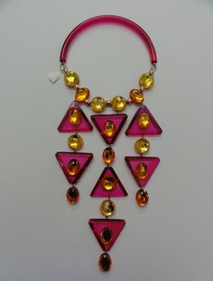 Judith Hendler Pink Amethyst Necklace, I will own some of her jewels some day!!