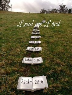 Lead me Lord~I will follow❣