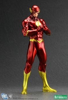 STATUES: New 52 Flash