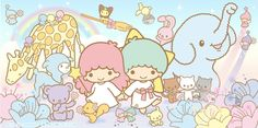 Little Twin Stars My Melody Wallpaper, Sanrio Wallpaper, Little Twin Stars, Little Star, Melody Hello Kitty, Star Banner, Sanrio Characters, Paper Tags, Cute Cartoon