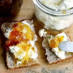Toast with Marmalade-Walnut Breakfast Spread: Our 1,350-calorie-a-day diet features foods that are great at stopping that famished feeling.