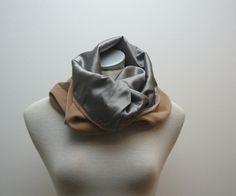 silk and velvet cowl