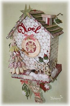 ♥Amazing  Christmas  house by Flo. Gorgeous!!!!