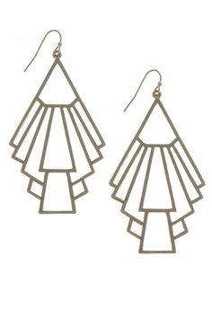 {Symbolic Shape Trendy Earrings}