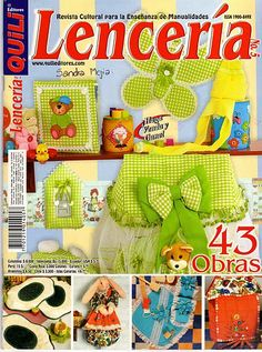 FULL MAGAZINE, REVISTA COMPLETA Purple Ladybugs, Sewing Magazines, Felt Dolls, Pattern Books, Book Crafts, Free Sewing, Couture, Quilt Making, Baby Quilts