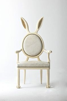 hippity hop, so cute! | rabbit ear chair ❤