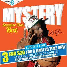 00bbe7af2094 3 for  20 Mystery Box www.birdclubclothing.com. Follow the IG  birdclub06