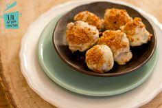Witte chocolade truffels met speculaas en praline - Uit de pan van San