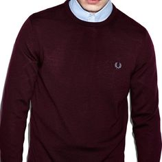 "#FredPerry ""Clasicc Crew Neck Sweater"" #jersey #sweater #fredperryoriginal #fredperryauthentic #nuevacoleccion #newcollection #AW15  http://www.rivendelmadrid.es/shop/marcas-de-rivendel-madrid/hombre/fred-perry/jerseys.html"