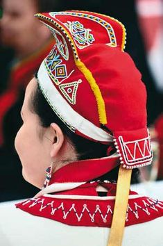Hello all, Today I will do an overview of the costumes of the Saami people. Previously they were called Lapps, but this is not wh.