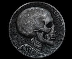 Hobo Nickel Art - Hand Carved Coins | http://rederr.com/hobo-nickel-art-hand-carved-coins/