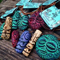 https://flic.kr/p/tvzSep | When I was 18 or 19 I was on the Huntington Beach pier with my family and I came across a Crazy Al Tiki necklace that I was fascinated by. I had been drawing tikis and carved crude versions with a pocket knife, but when I saw his, I was forever inspired.