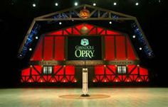 The Grand Old Opry in Nashville, Tn