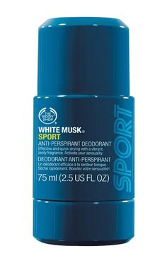 White Musk Men Sport A/P Deodorant 75Ml by The Body Shop. Men deodorant to keep…