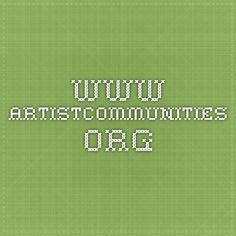 www.artistcommunities.org