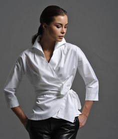 Abigail White Shirt