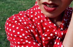 #dresscolorfully dot crop by marguerite
