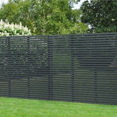 Painted in Grey & with a guarantee, the Contemporary Grey Slatted Fence Panel is modern garden fencing. Visit online today for great deals on fencing. Cheap Fence Panels, Cheap Garden Fencing, Slatted Fence Panels, Decorative Fence Panels, Wooden Fence Panels, Modern Wood Fence, Fence Slats, Wooden Fences, Timber Slats