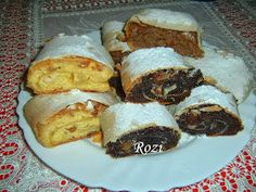 Rozi Erdélyi konyhája: Lusta rétes Sweet Cookies, Hungarian Recipes, Apple Pie, My Recipes, French Toast, Tacos, Muffin, Food And Drink, Beef