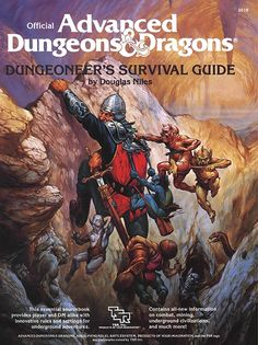 Dungeoneer's Survival Guide (1e) - Dungeons & Dragons | Dungeons and Dragons | D&D | DND | AD&D | 1st Ed. | 1e | 1.0