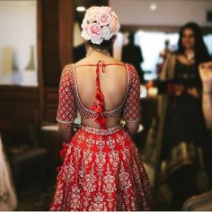 40 blouse back neck designs you have to check out this Indian wedding season! - Blog