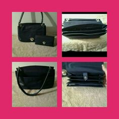 👜 NWOT Liz Claiborne Handbag 👜 ❌FINAL❌ New Liz Claiborne Handbag. The Color Is Navy Blue And There's Also A Detachable Strap Included. This Is Very Versatile Can Be Worn As Handbag, Shoulder Bag OR Crossbody. NEVER USED There Is Now Damage To The Bag My Kitten Decided To Chew Through The Bag It Was Stored In 🚫 NO TRADES 🚫 NO PayPal 🚫 NO OFFERS PRICE NOW FINAL  👜 Liz Claiborne Bags