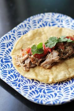 easy and delicious homemade carnitas with the crock pot from @janemaynard
