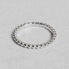 Petit Sesame | Sterling silver pepites ring | Designed by Petit sesame | $12.00 | Rhodium plated 925 sterling silver ring adorned with nuggets