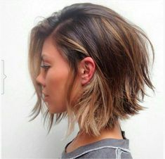 The Best 10 Mid-Size Bob Hairstyles 2018 for Women, Shaggy Bob Hairstyles, Bob Hairstyles 2018, Layered Bob Haircuts, Inverted Bob Hairstyles, Trending Hairstyles, Shaggy Hair, Hairstyles Videos, Pretty Hairstyles, Ombre Braids