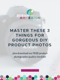 Master These 3 Things For Gorgeous DIY Product Photos Etsy Business, Craft Business, Creative Business, Online Business, Photography For Beginners, Photography Tips, Product Photography, Flatlay Instagram, Selling Art