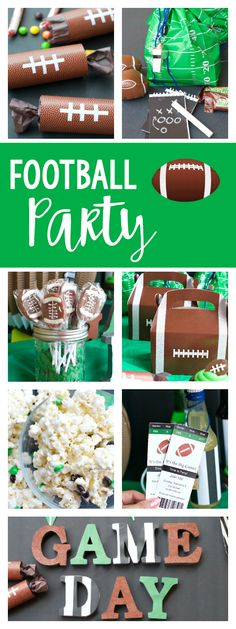 Super Bowl Party Ide