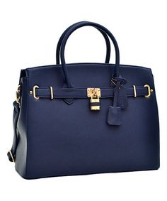 Navy Satchel #zulily #zulilyfinds