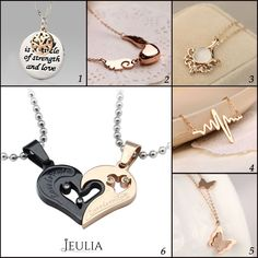 Fashion Cute Necklace for you all. #jeulia #necklace #fashionjewelry.