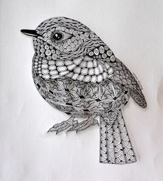 zentangle bird - Recherche Google