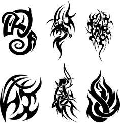 Tattoo tribal neck