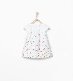 Image 2 of Dragonfly print dress from Zara Baby Girl Fashion, Toddler Fashion, Kids Fashion, Baby Girl Dresses, Baby Dress, Girl Outfits, Zara Baby, Frocks For Girls, Toddler Girl