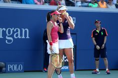 Doubles on Day 7   September 3, 2016 - Martina Hingis and Coco Vandeweghe in action against Yifan Xu and Saisai Zheng during the 2016 US Open at the USTA Billie Jean King National Tennis Center in Flushing, NY.