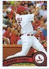 2011 Topps St. Louis Cardinals Complete Series 1 & 2 Team Set - Shipped in Deluxe Arcylic Case! 22 Cards including Albert Pujols, Y Molina, Jay, Carpenter, Descalso RC, Theriot, Rasmus, Holliday & more! by Topps. $5.99