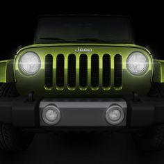 Jeep grill / headlights