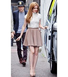 How To Style A Skater Skirt     #fashion #style #howto #skater #skirts #trend #fbloggers #outfit