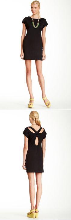 Bolsa back cutout dress