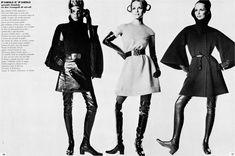Photo by Irving Penn 1968  Benedetta Barzini, Lauren Hutton  Vogue Italia, October 1968