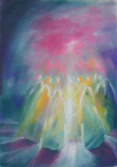 moving the soul with color - inviting Spirit - more paintings