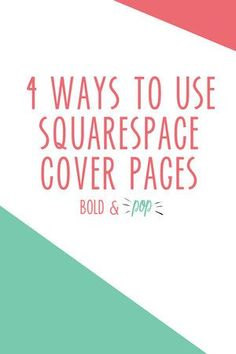5 Ways to Improve Your Website's User Experience — Bold & Pop   Social Media, PR, Branding and Squarespace Website Design
