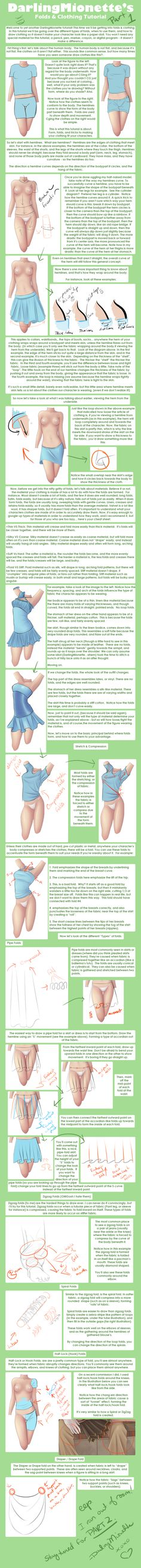 Tutorial - Clothing + Folds 1 by DarlingMionette.deviantart.com on @deviantART